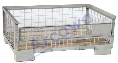 1240x835xH570 Pool wiremesh container