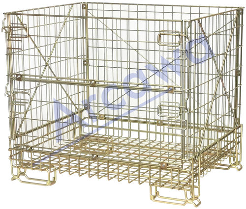 1190x930xH1020 Wiremesh container PCMK110910 Bordeaux